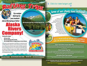 youth group Alaska Float Trips for schools or organizations.