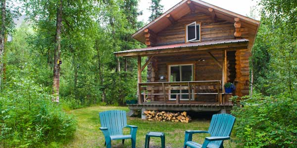 River View Cabin on the Kenai River