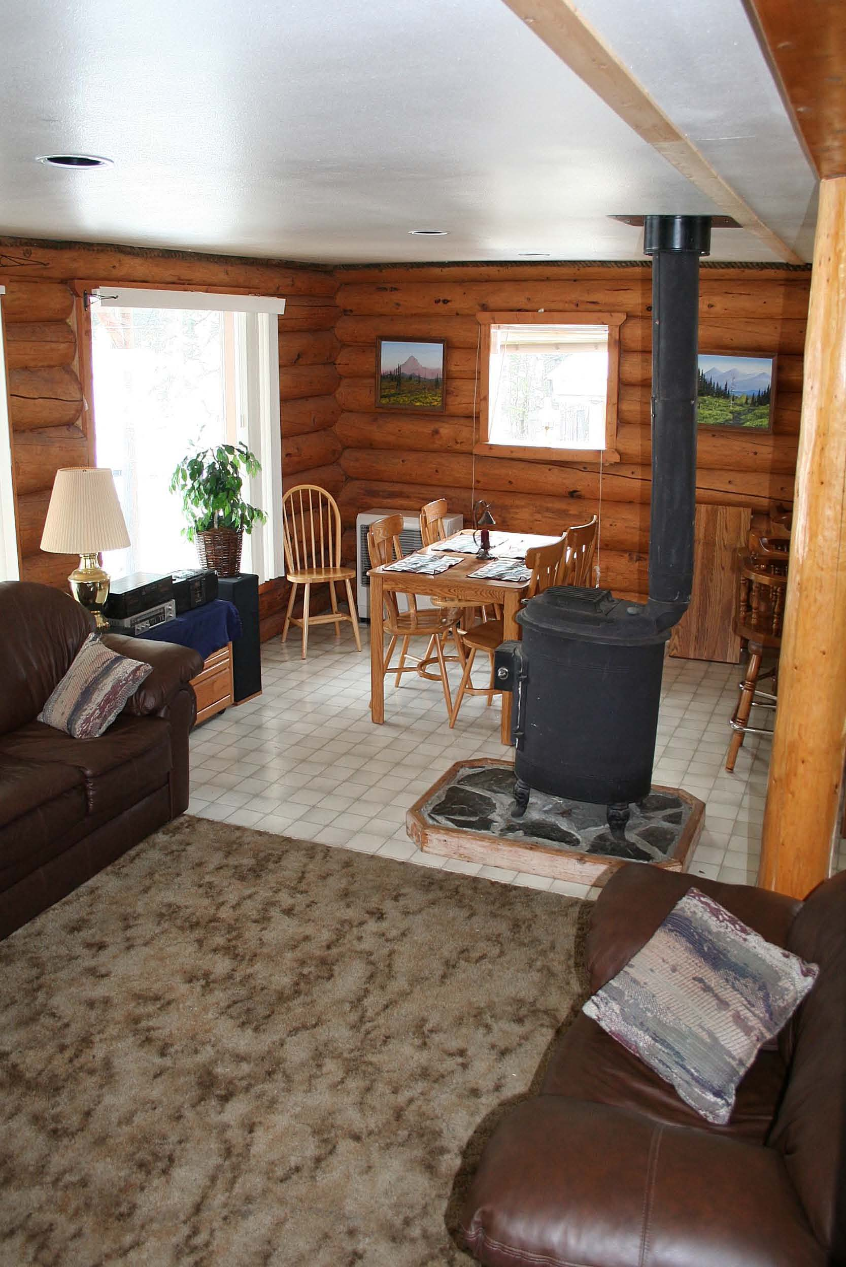 Big Log House Photos on the Kenai River