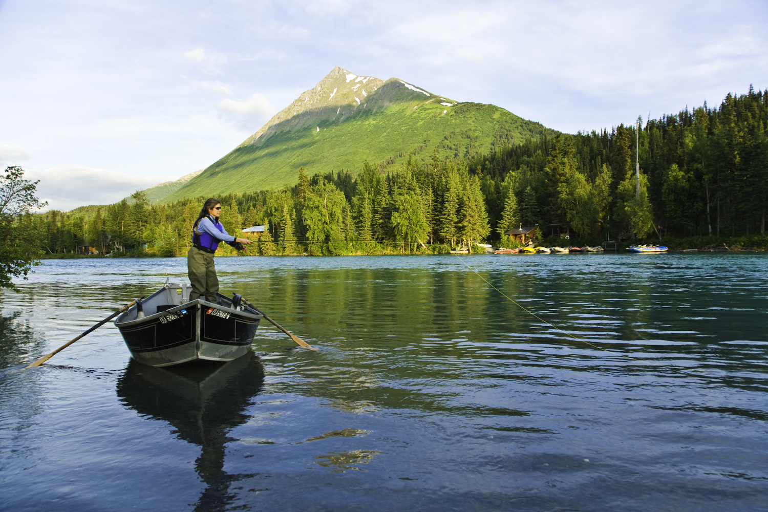 Alaska rivers company fly fishing drift boat alaska for Ak fishing license