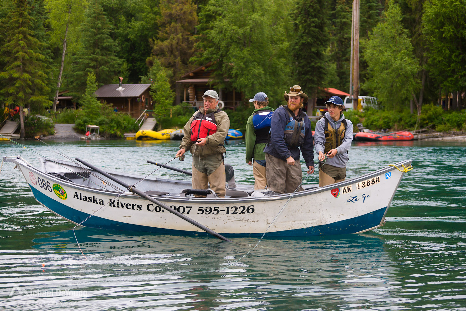 Alaska rivers company guide fishing with professional for Fishing company of alaska