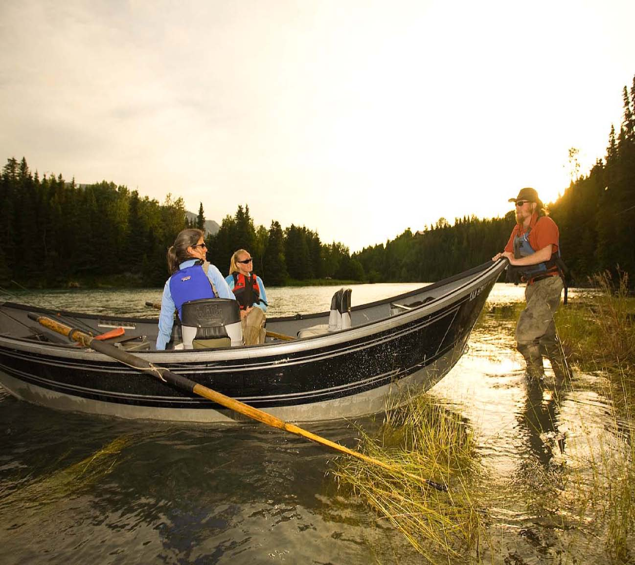 Kenai River Rafting And Fishing Day Trips Alaska