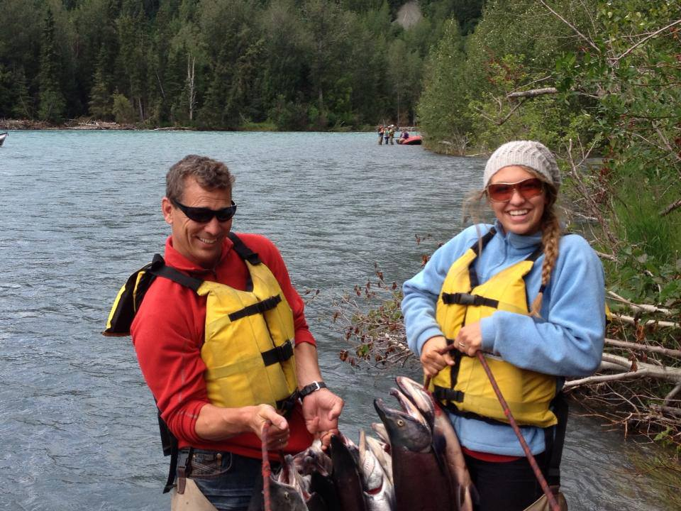 All Day Guided Canyon Kenai River Fishing Trips
