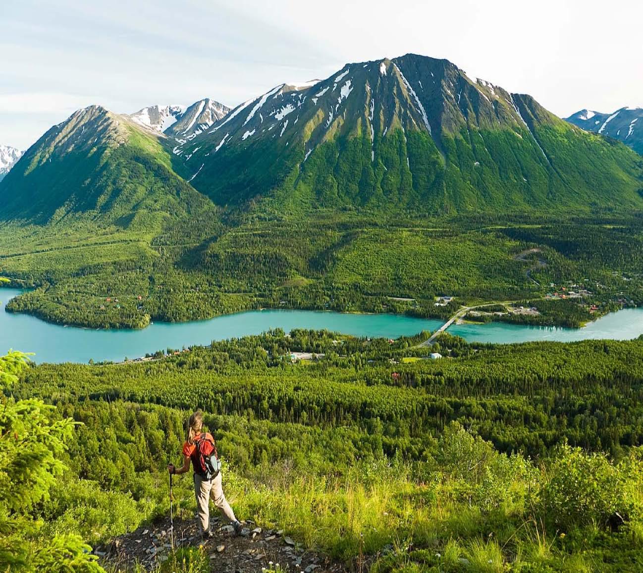 Alaska Rivers Company Hiking Cooper Landing Alaska