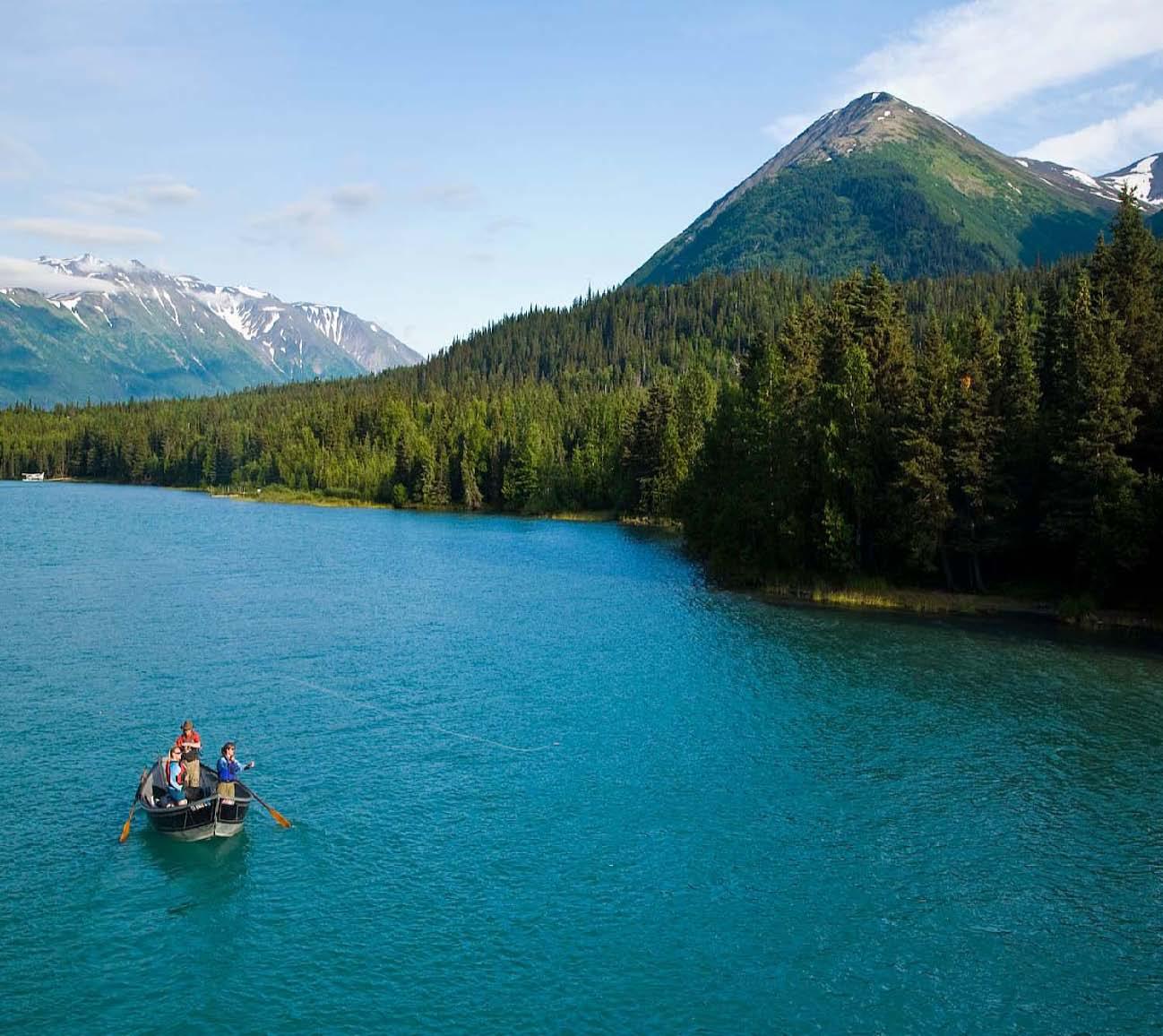 Alaska Rivers Company Kenai Lake Fishing Alaska Rivers