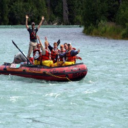 Guided Kenai River Canyon Alaska River Rafting for the whole family