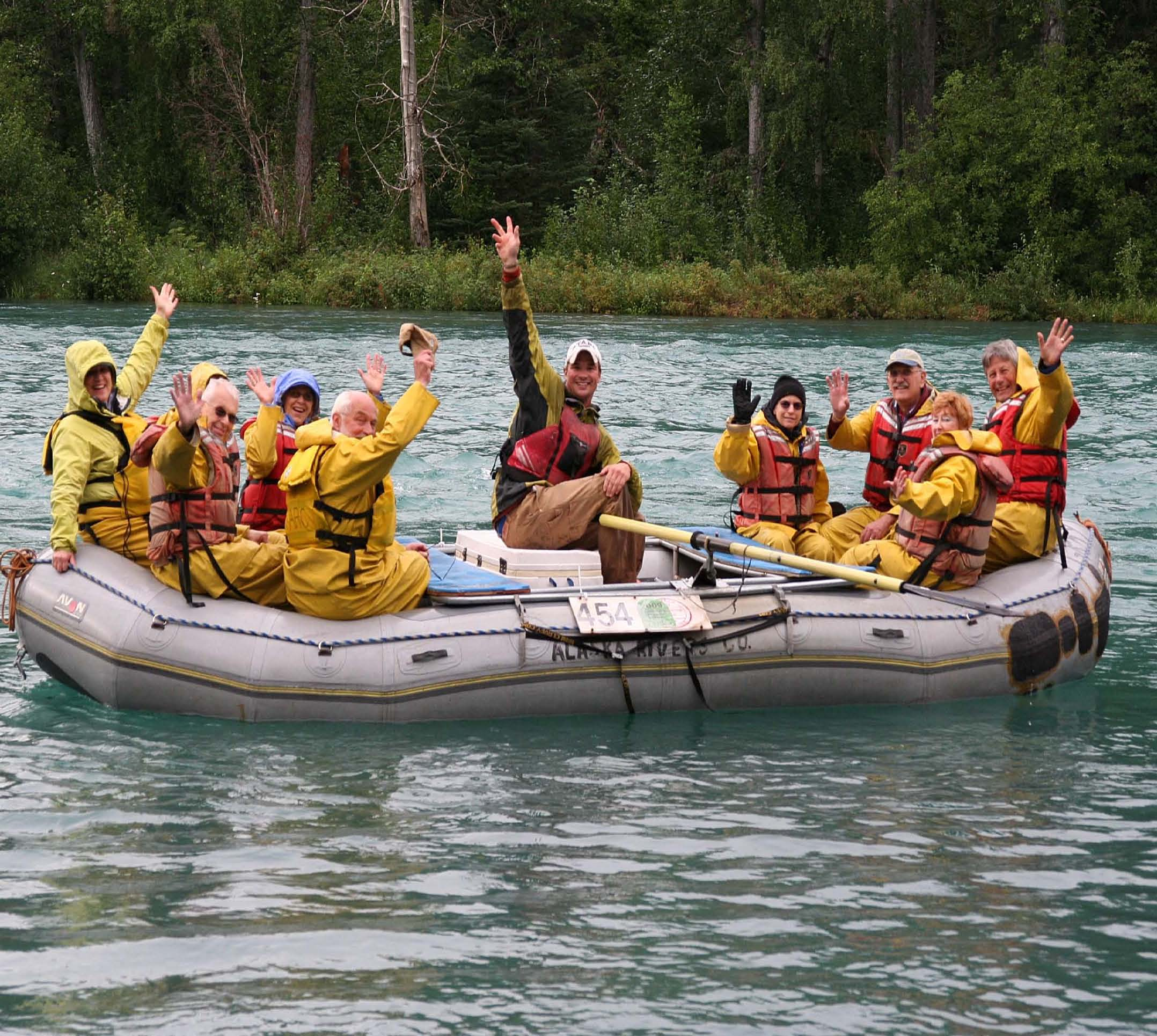 Upper Kenai River Scenic Float Trip for the Whole Family