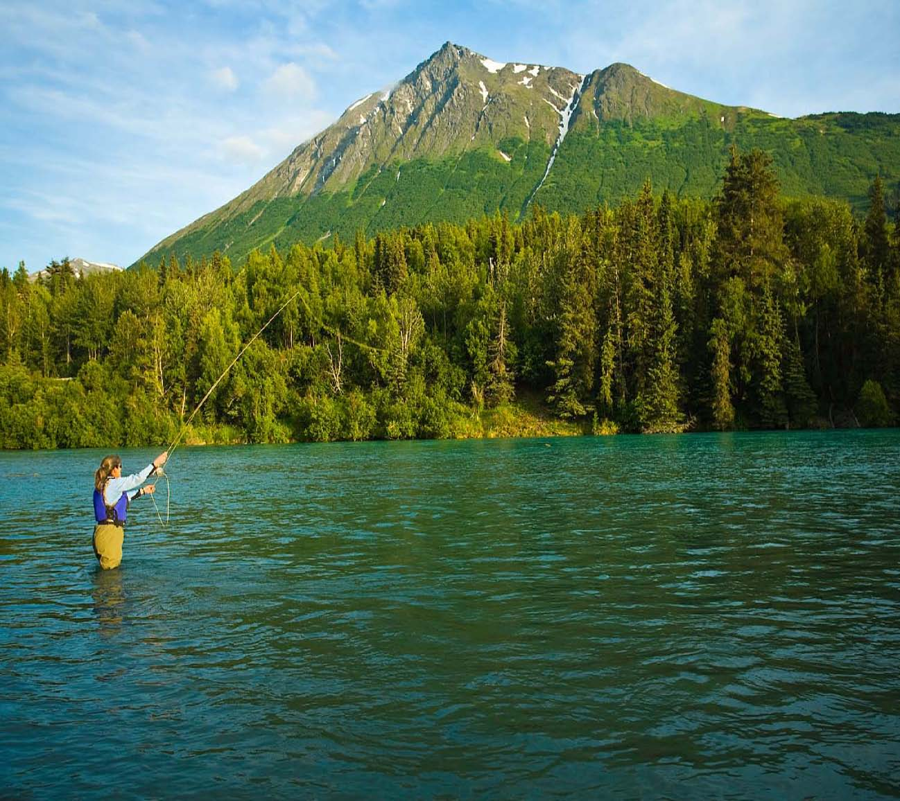 alaska rivers company fly fishing upper kenai river alaska rivers
