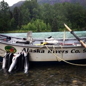 Alaska Rivers Company Guided Fishing Kenai River, Alaska River Rafting