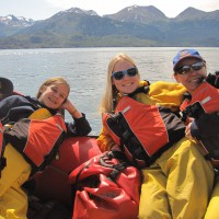 Guided Kenai River Canyon Alaska River Rafting for the whole family