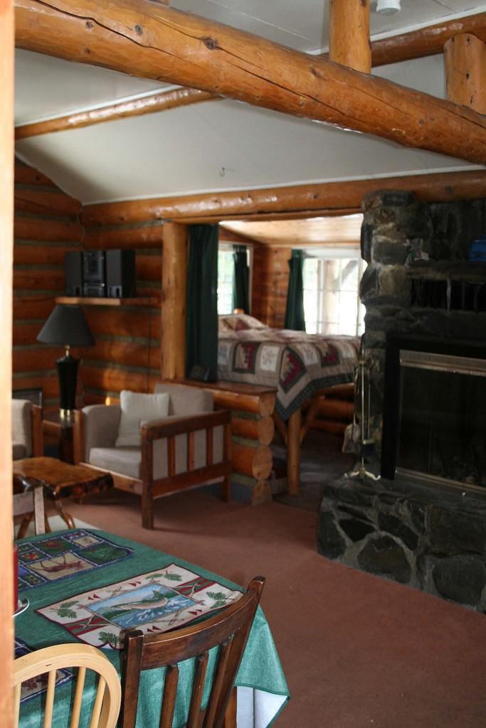 Alaska Rivers Company Old Riverfront Cabin Inside 2